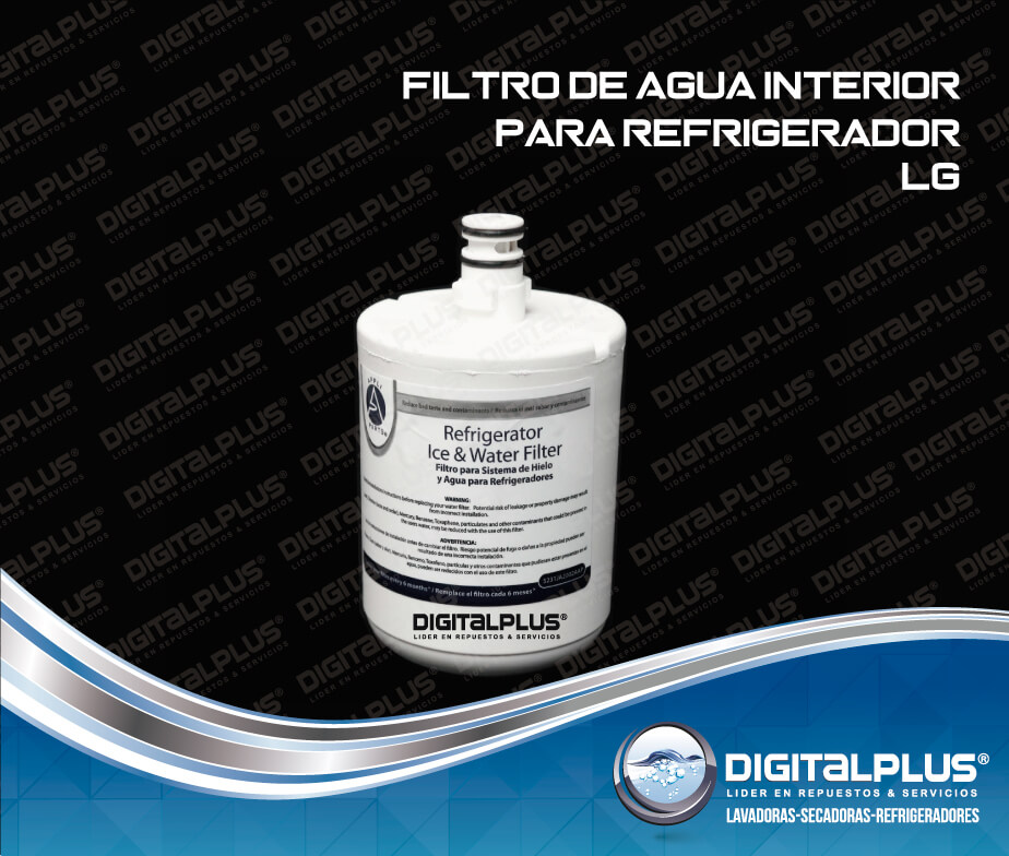 Filtro de agua interior refrigeradores lg - Filtros para grifos de agua ...