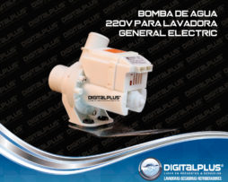 BOMBA DE AGUA 220V PARA LAVADORA GENERAL ELECTRIC