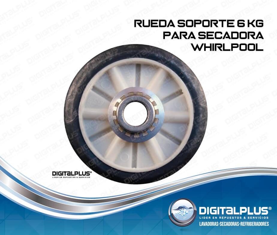 Rueda secadora whirlpool 6 kg repuesto de secadora digital - Soporte secadora sobre lavadora ...